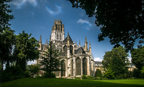Rouen, Abbey Church of Saint-Ouen // 26 08 13