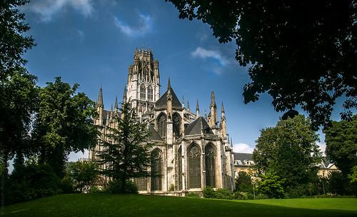 Rouen, Abbey Church of Saint-Ouen // 26 08 13