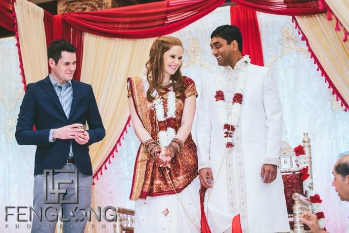 Jill & Suprit   Atlanta Hindu American Fusion Wedding   BAPS Shri Swaminarayan Mandir