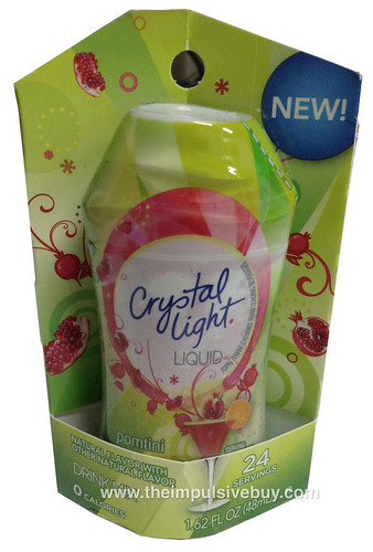 Crystal Light Liquid Pomtini