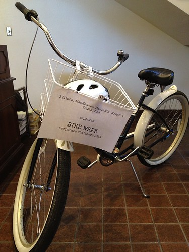 bike on display