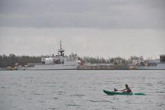 Kayak on the bay ... Key west