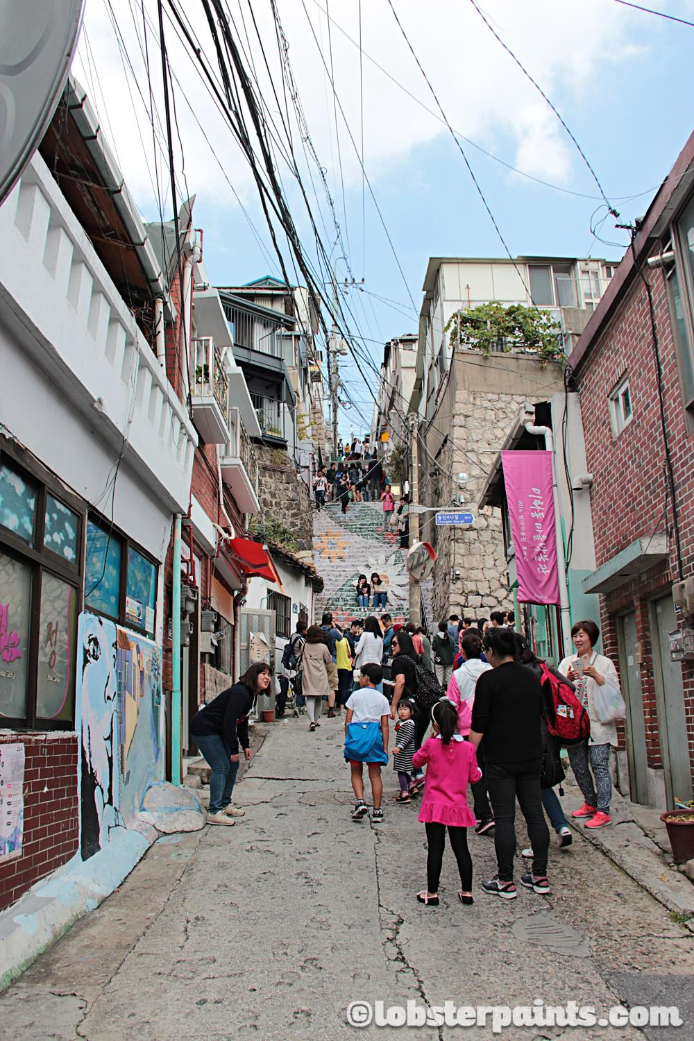 3 Oct 2014: Ihwa Mural Village 이화벽화마을 | Seoul, South Korea