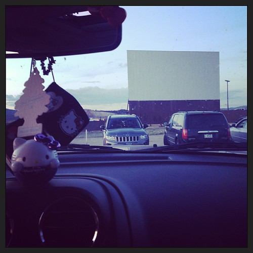 Iron man 3. I thought I'd never see another new release again. (I thought it was pretty good BTW) #drivein #ironman3