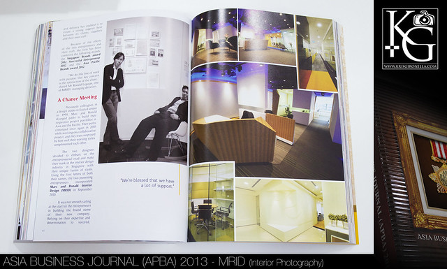 Asia Business Journal (APBA) 2013 MRID (Interior Photography)