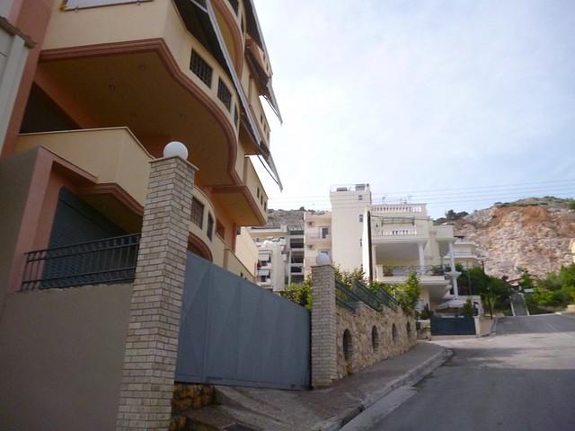 Posh steep neighborhood in Athens