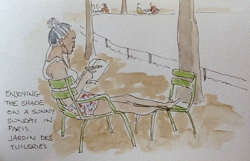 Jardin des Tuileries by Lionel G King