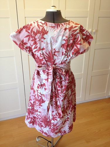 red tropical Duro Junior Simplicity 3875 back