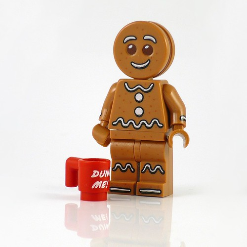 71002 LEGO Minifigures Series 11 06 Gingerbread Man 02