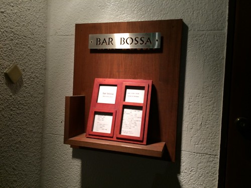 入り口@bar bossa