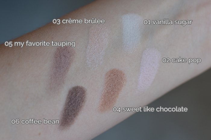 {essence} I ♥ NUDE eyeshadows 04