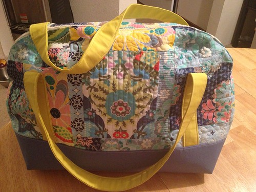 Aeroplane bag, pattern via sewsweetness