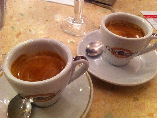 Morning coffee with Florence Food Tour