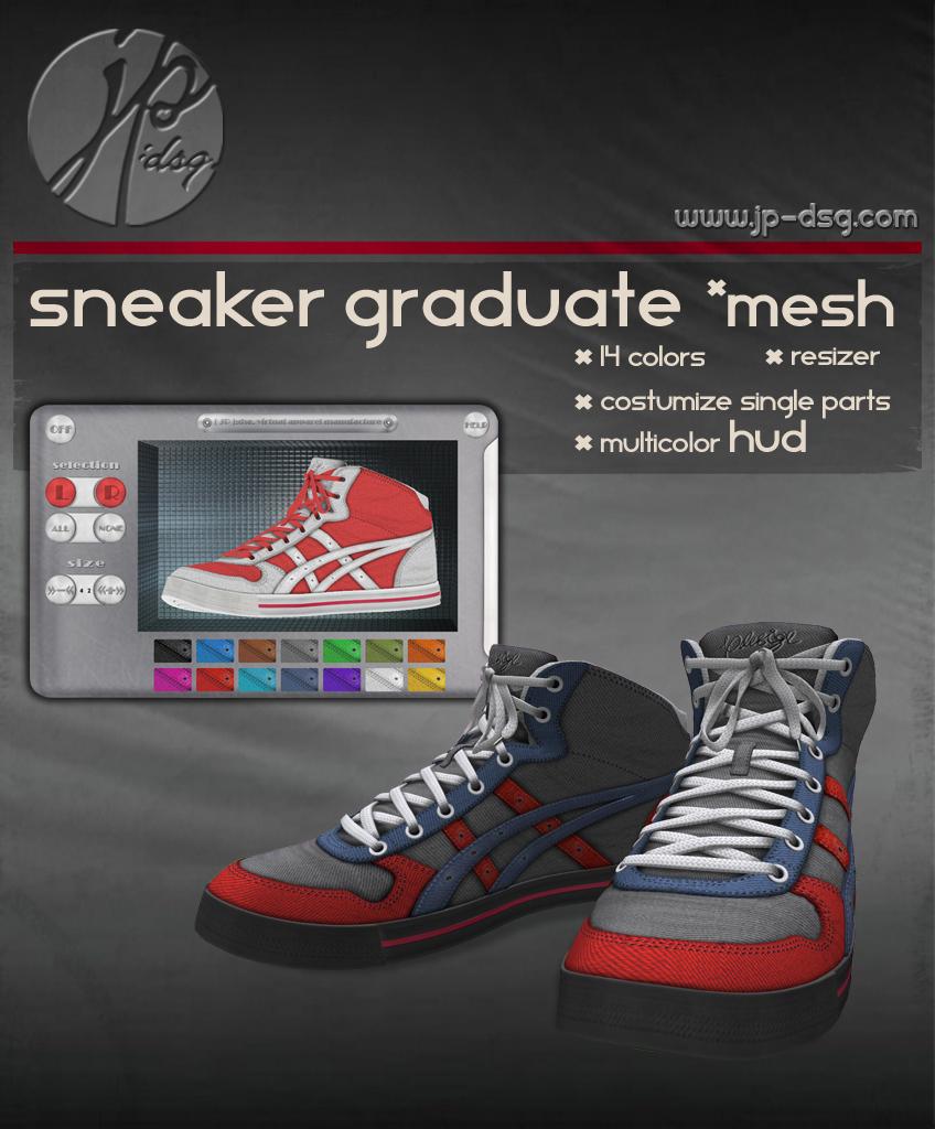 [ JP ]:dsg. Sneaker Graduate / Multicolor / *MESH