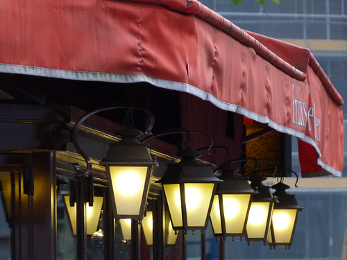 Paris Café Lights