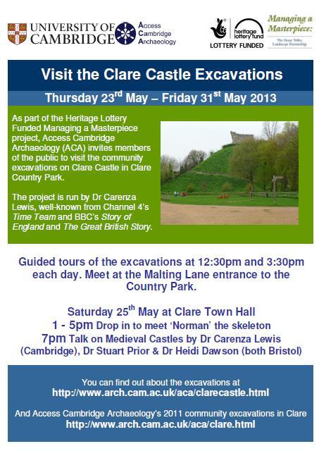 Clare Castle Visits