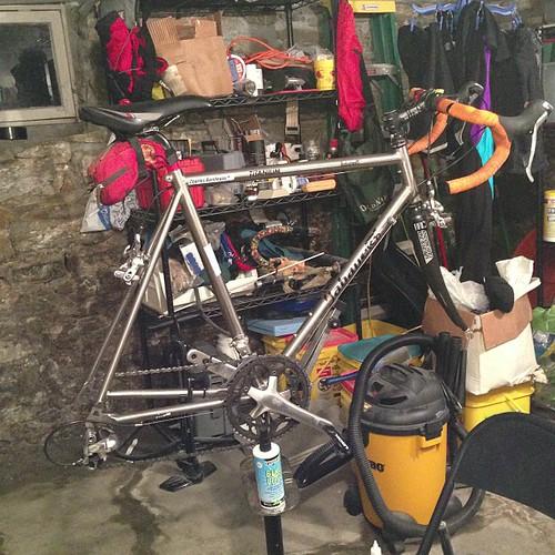 Bike cleaning