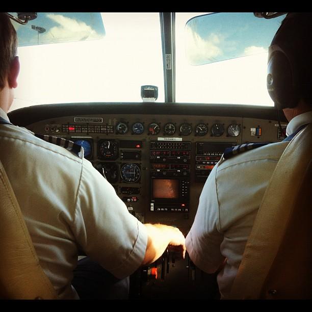 Cessna Coachbus to Maui. We deserve a drink now.