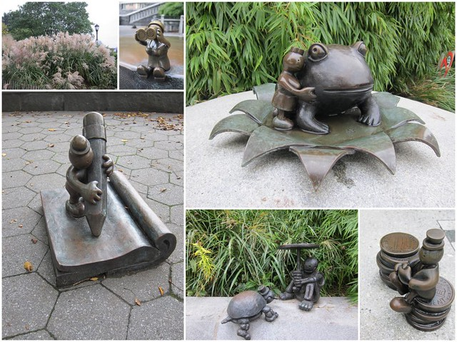 Tom Otterness - The Real World - Battery Park City