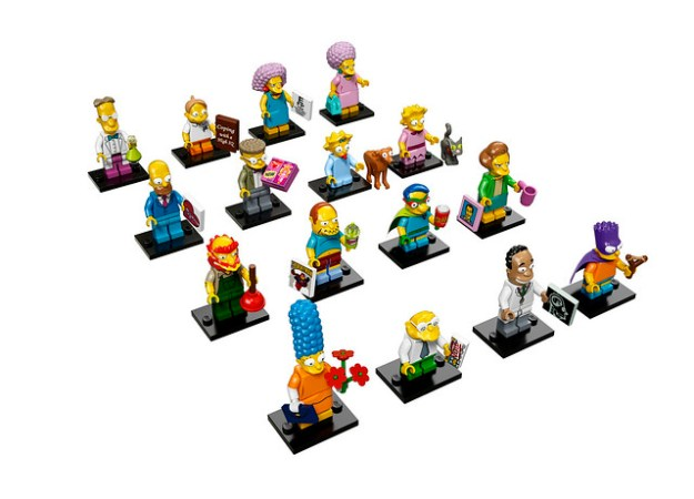 LEGO Collectible Minifigures - The Simpsons Series 2