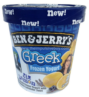 Ben & Jerry's Liz Lemon Greek Frozen Yogurt