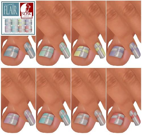 Flair - Nails Set 73