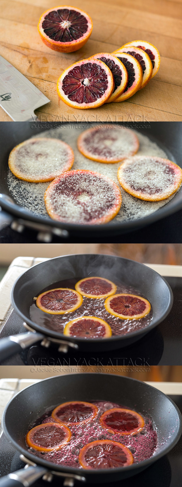 How to make Candied Blood Oranges