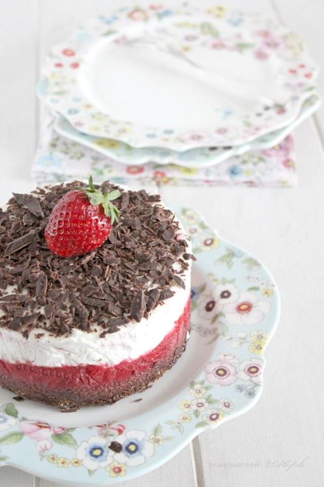 cheesecake fragole panna mascarpone cioccolato2