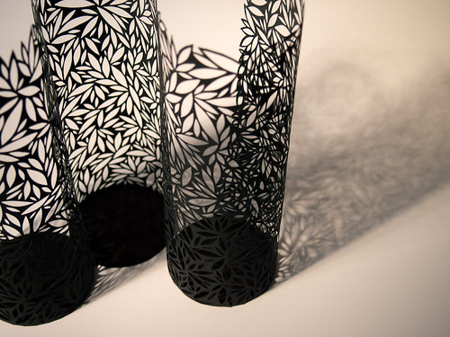 Paper Cut Vessel - Three Curves
