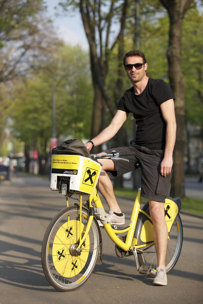 city bike dude