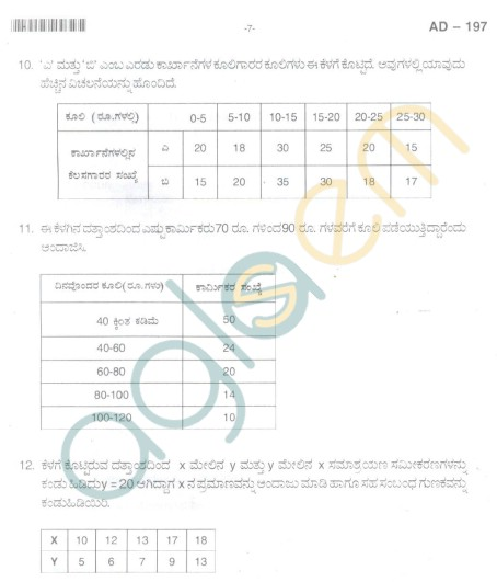 Bangalore University Question Paper Oct 2012: II Year B.Com. - Commerece Business Management
