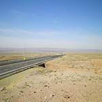 La strada da Tehran a Esfahan