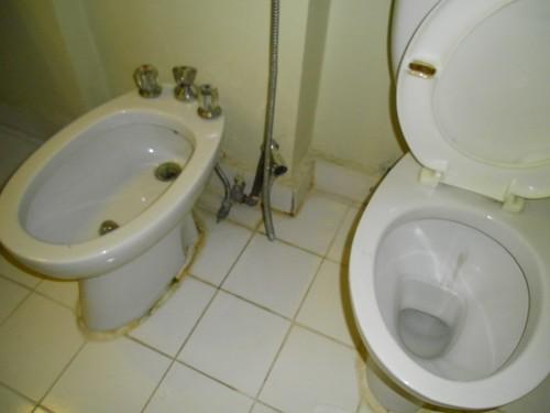 Il bagno dell'Hotel Enghelab Parsian di Tehran