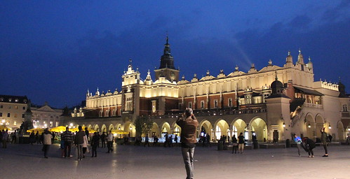Krakow - Sukiennice (Cloth Hall) by Christopher OKeefe