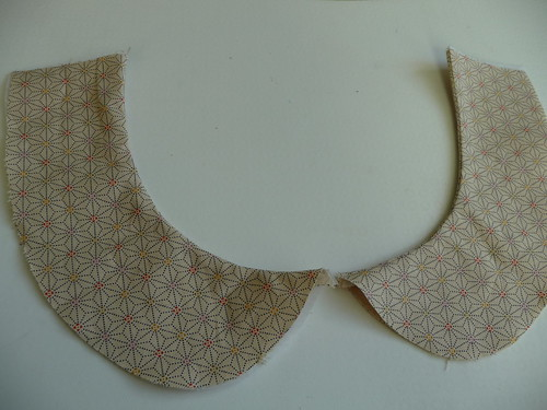 Blouse Collar - work in progress