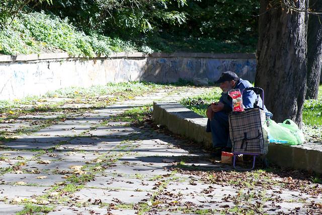 A tramp. Lviv, Ukraine