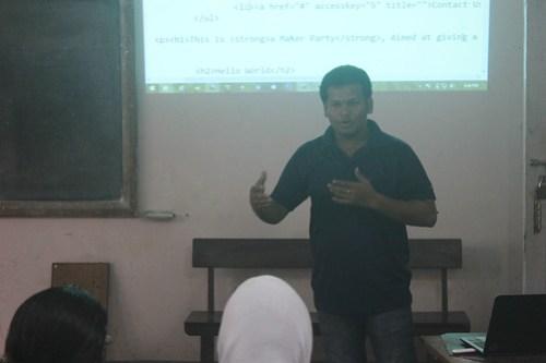 Binoy managing the