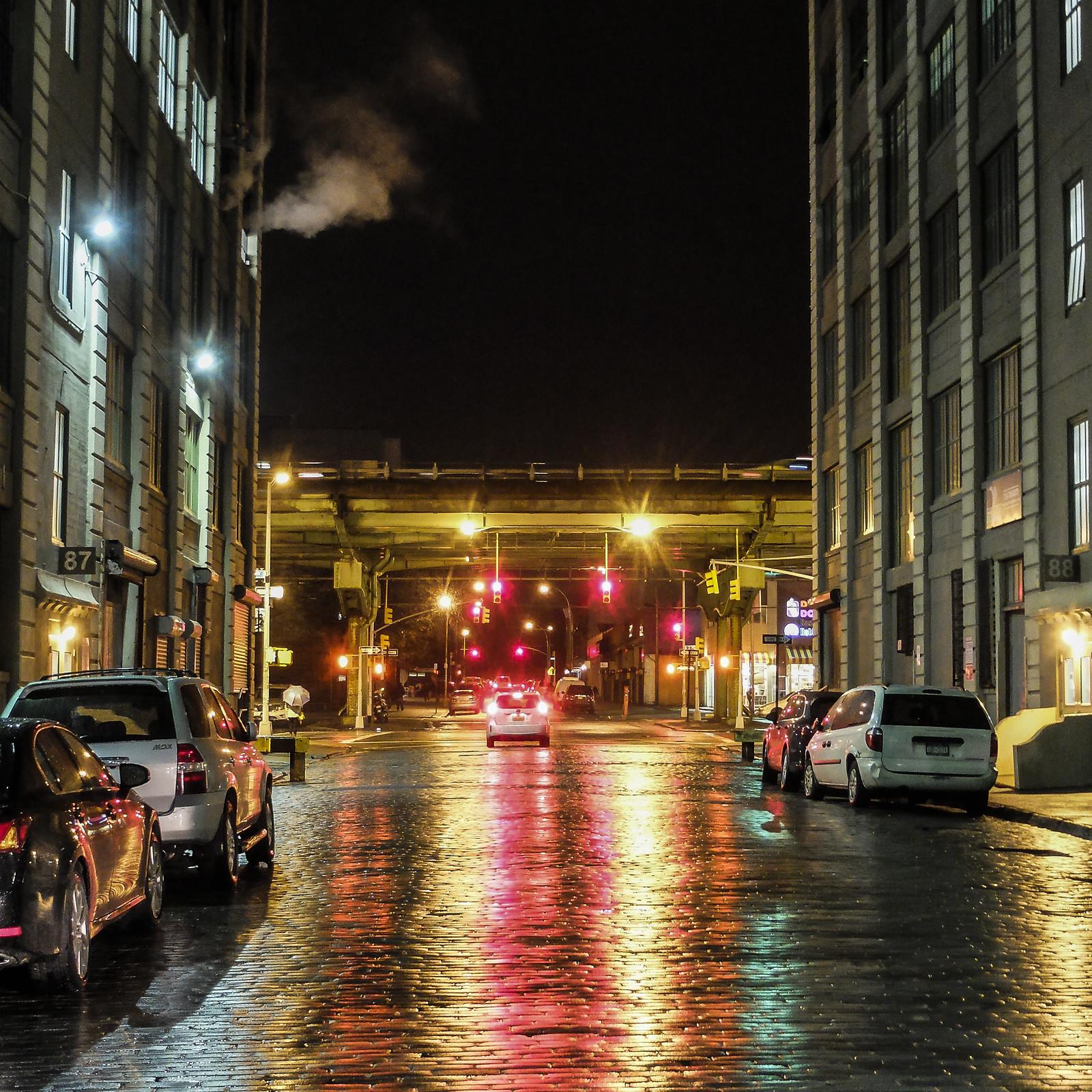 Nighttime in Industry City by wwward0