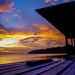 Palau Tiga Sunset, Borneo