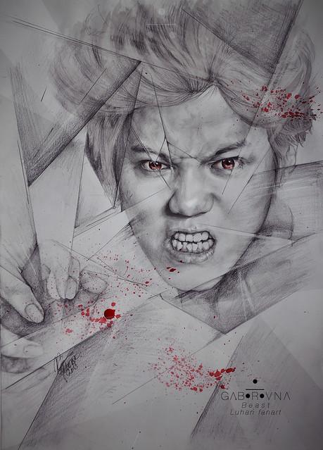 Beast (Wolf Luhan fanart)