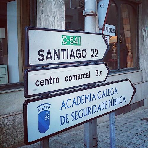 A 22km de Santiago... by Marc Lecha