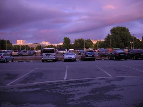 A Parking Lot in Dresden