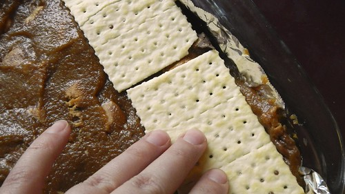 Salty Caramel Nut Squares 22