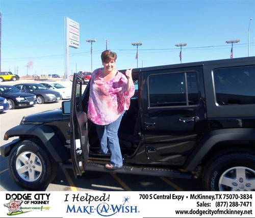 Happy Anniversary to  Gowers on your 2013 #Jeep #Wranu from Callan Perry and everyone at Dodge City of McKinney! #Anniversary by Dodge City McKinney Texas