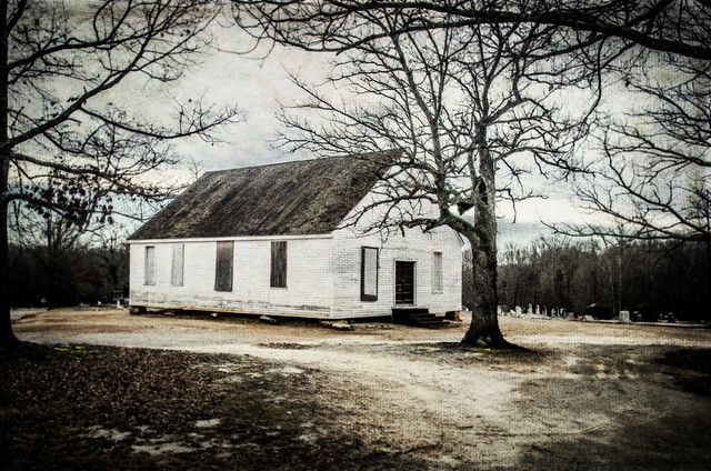 Union Baptist Church with Texture