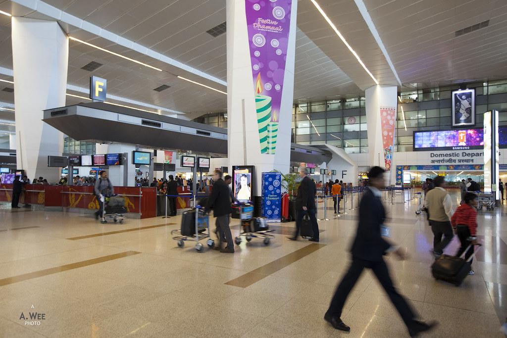 Indira Gandhi Terminal 3 Departures