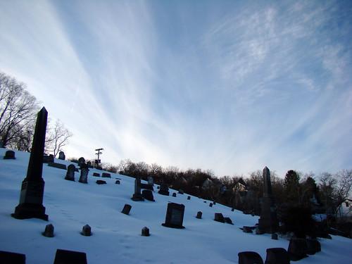 First Congregational Church of Etna Cemetery - Borough of Etna, Feb. 18th 2014