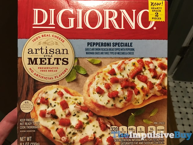 DiGiorno Pepperoni Speciale Artisan Melts