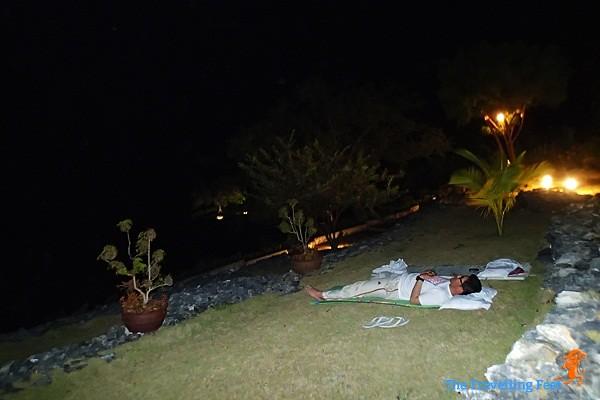 stargazing at Terra Manna Resort