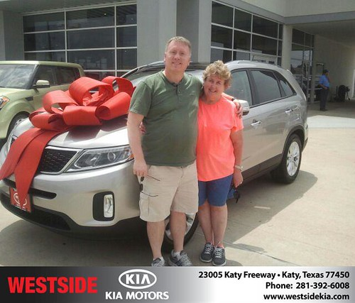 Thank you to Lee Parker on the 2014 Kia Sorento from Gil Guzman and everyone at Westside Kia! by Westside KIA